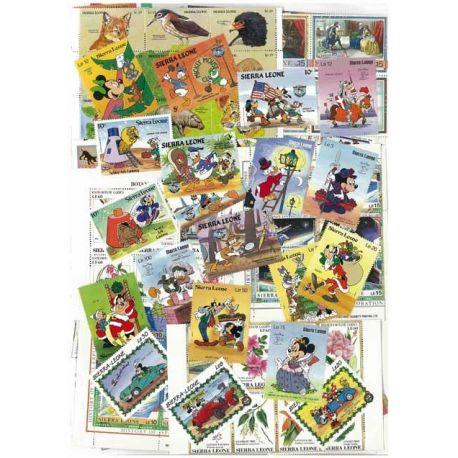 Sierra Leone - 10 verschiedene Briefmarken