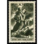 Timbre France N° 584 neuf avec charnière