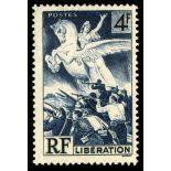 Französisch Briefmarken N ° 669 mit Scharnier