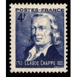 Timbre France N° 619 neuf avec charnière