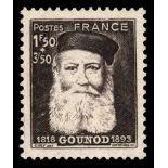 Timbre France N° 601 neuf avec charnière
