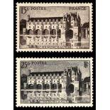 Timbres France Série N° 610/611 neuf avec charnière