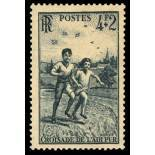 French stamps N° 740 unused with hinge
