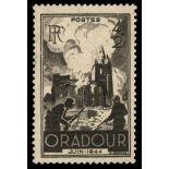 Französisch Briefmarken N ° 742 mit Scharnier
