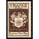 Francobolli francesi N ° 668 nuovo con cerniera