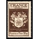 French stamps N° 668 unused with hinge