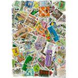 Sammlung gestempelter Briefmarken Singapur