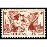 Französisch Briefmarken N ° 739 mit Scharnier