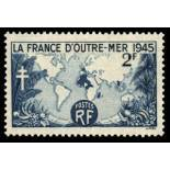 French stamps N° 741 unused with hinge