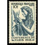 Timbre France N° 762 neuf avec charnière