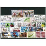 Sammlung gestempelter Briefmarken Slowenien