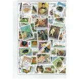 Sammlung gestempelter Briefmarken Somalia