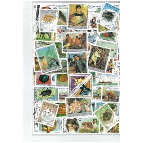 Collection de timbres Somalie oblitérés
