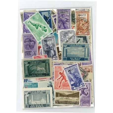 Somalia Italienisch - 25 verschiedene Briefmarken