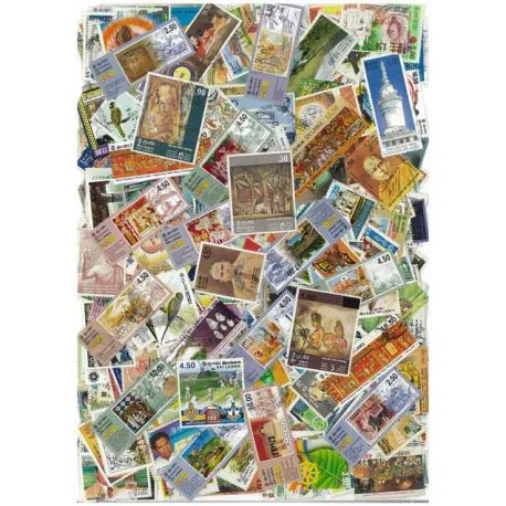 Collection de timbres Sri Lanka oblitérés