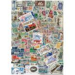 Collection de timbres St Pierre oblitérés