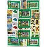 Collection de timbres St Thomas oblitérés