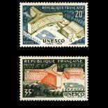Timbres France Série N° 1177/1178 neuf avec charnière
