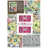 Holy used stamp collection Helene