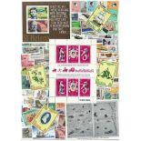 Sammlung gestempelter Briefmarken Ster Helene