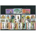 Colección de sellos Santa Lucía usados