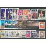 Sammlung gestempelter Briefmarken Tristan da Cunha