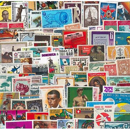 Stamp collection All New Countries