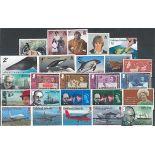 Collection de timbres Falklands et dépendances oblitérés