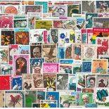 Collection timbres Tous Pays Neufs Grands Formats 1000 timbres différents