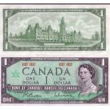 Banknote collection Canada Pick number 84 - 1 Peso 1967