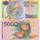 Banknote collection Suriname - Pick numbers 152 - 5000 Gulden