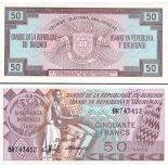 Banknote Burundi collection - Pick number 28C - 50 Francs