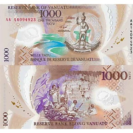 Billet de banque collection Vanuatu - PK N° 16 - 1 000 Vatu