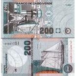 Banknote Cape Verde Pick number 68 - 200 Escudo 2005