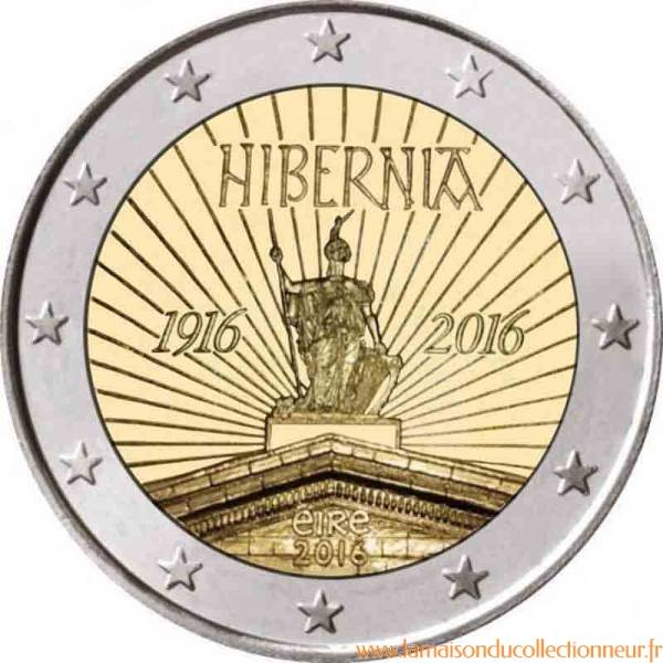 Irlande 2016 2 Euro Commémorative Hibernia La Maison Du
