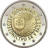 Die Slowakei 2016 - 2 Euro Gedächtnis- Vorsitz der EU