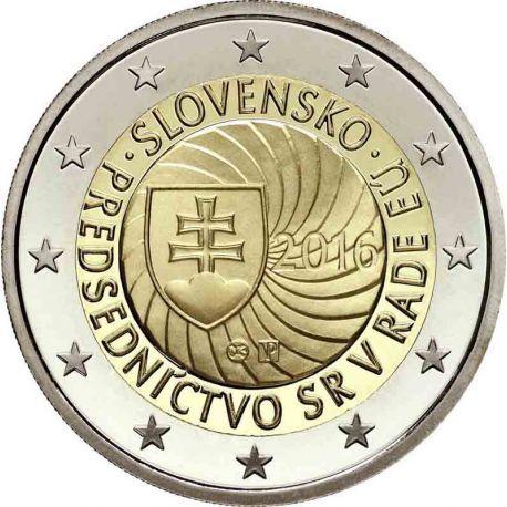 Slovaquie 2016 - 2 euro commémorative Présidence de l'UE