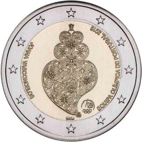 Portugal 2016 - 2 euro commémorative Jeux Olympiques de Rio