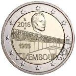 Luxemburg 2016 - 2 Euro Gedächtnis- Brücke große Herzogin
