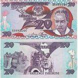Banknote Tanzania collection - Pick N° 9 - 20 Shillings