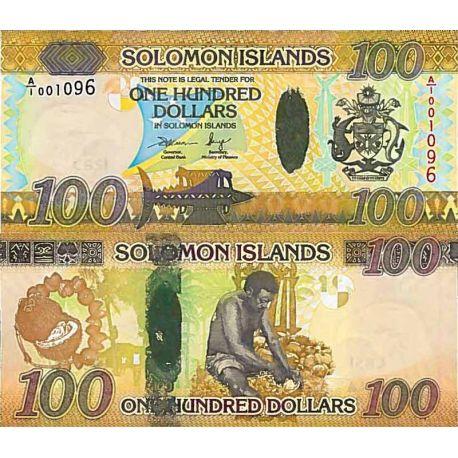 Banconote collezione $salomone - PK N° 39 - 100 dollari