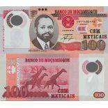 Banknote Mozambique collection - Pick N° 151 - 100 Meticais