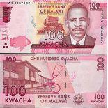 Billete de banco colección Malaui - PK N° 59 - 100 Kwacha