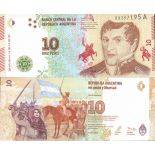 Banknote Argentinian collection - Pick N° 360 - 10 Pesos