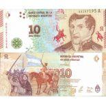 Billete de banco colección Argentina - PK N° 360 - 10 Pesos