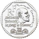 Coin 2 francs René Cassin 1998