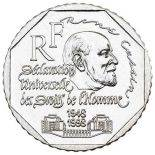 Pièce 2 francs René Cassin 1998