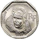 Monete 2 franchi Giorgio Guynemer 1997