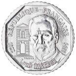 Monete 2 franchi Louis Pasteur 1995