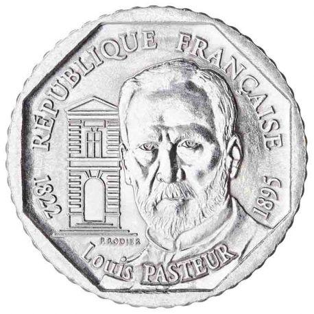 Pièce 2 francs Louis Pasteur 1995